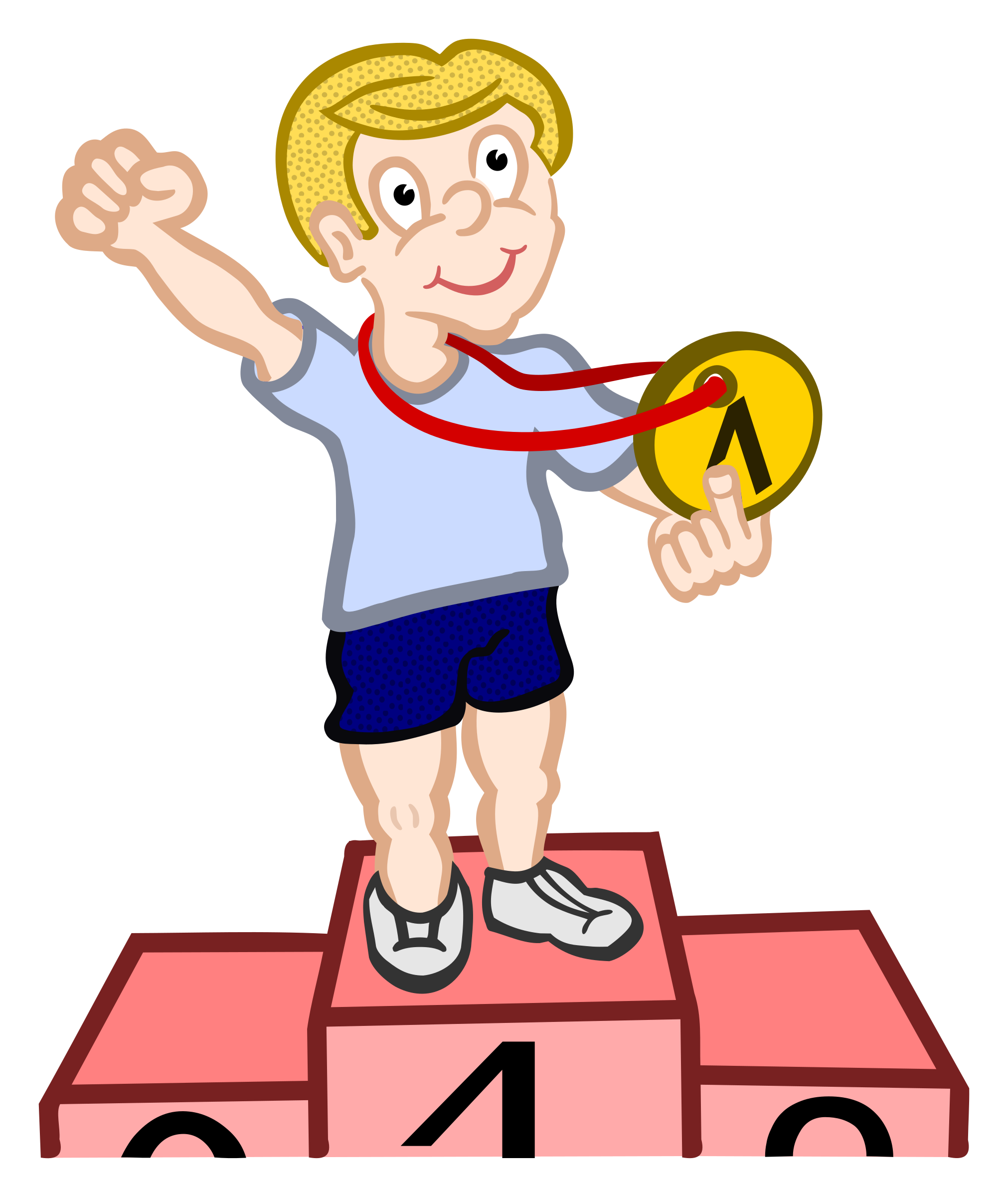 Winner clipart. Coloured big image png