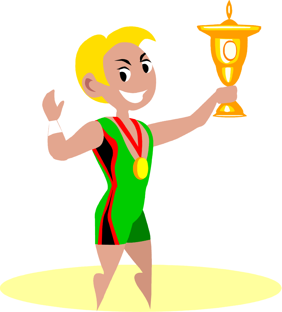 Winner clipart gold medalist. Medal at getdrawings com