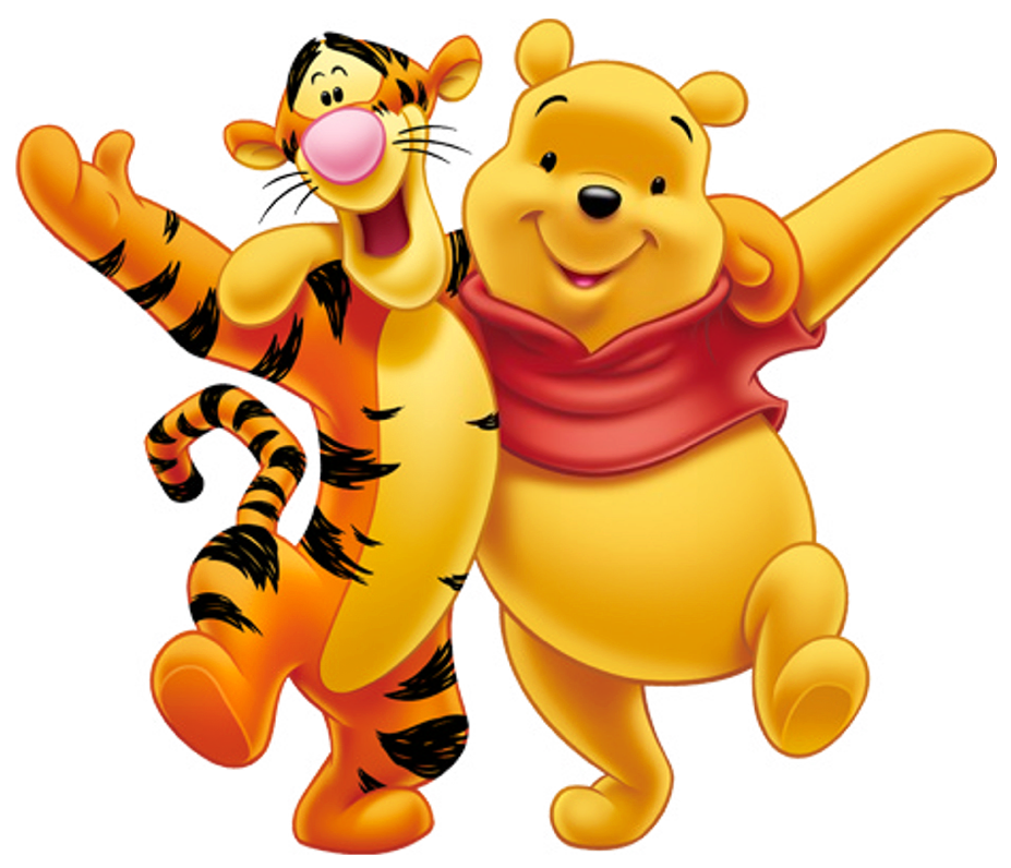 Winnie the pooh clipart high quality. Transparent and tigger png