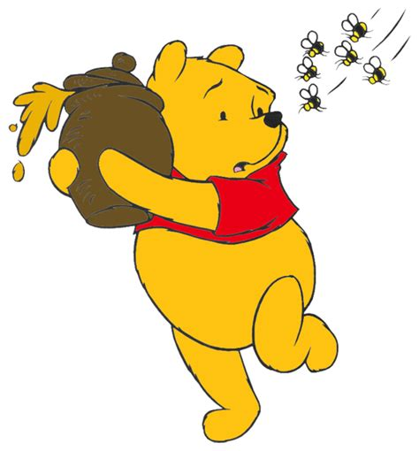Winnie the pooh clipart hunny bee. Honey quotes fast
