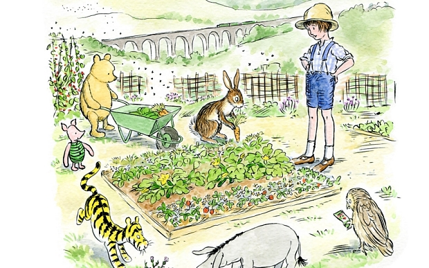 Winnie the pooh clipart hunny bee. New story in which