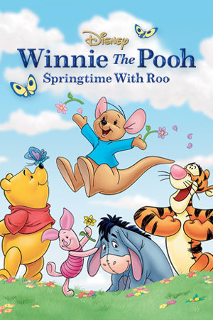 Winnie the pooh clipart spring. Springtime with roo disney