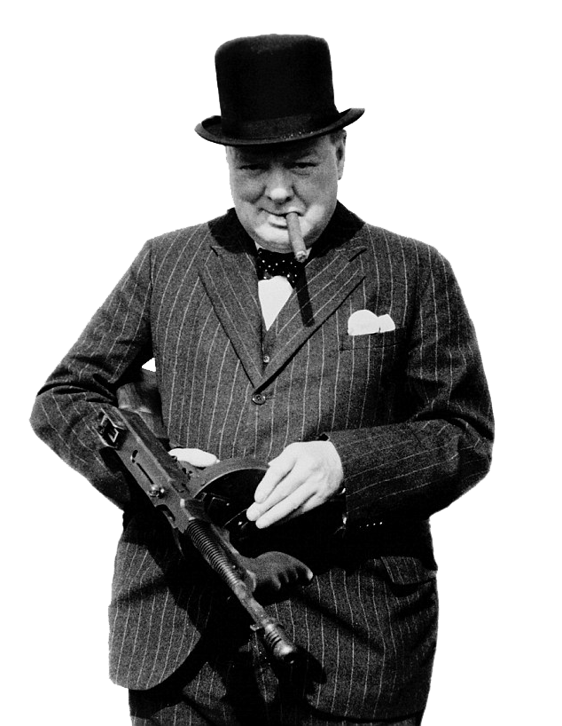winston churchill png