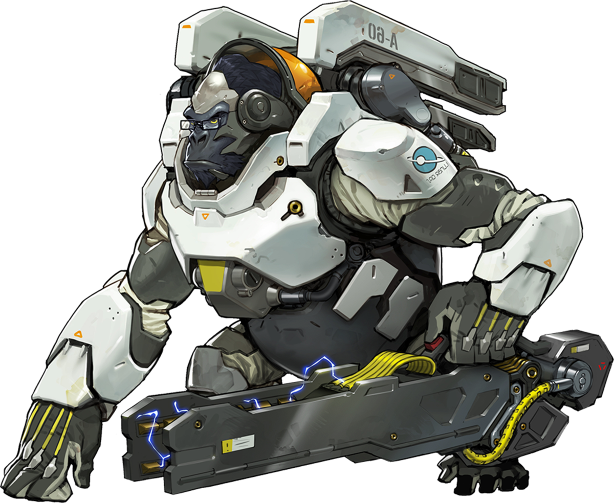 Winston cute png. Overwatch wiki