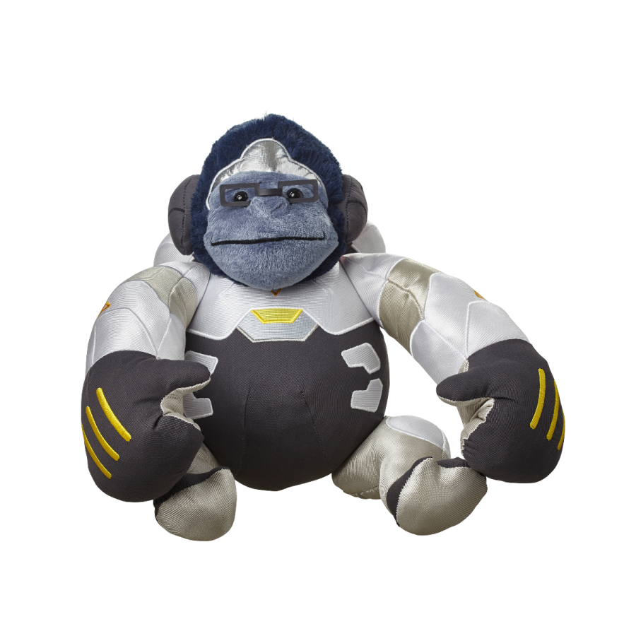 Winston transparent animated. Overwatch plush blizzard gear