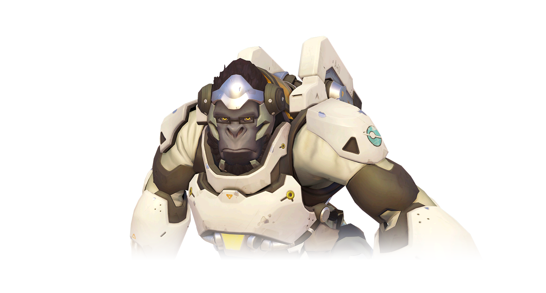 Winston face png. Overwatch characters transparent background