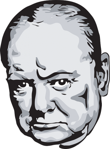 Winston face png. Churchill and depression the