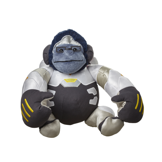 Overwatch plush blizzard gear. Winston png clipart free