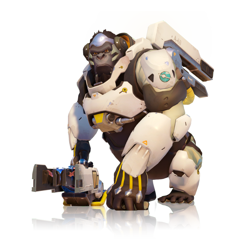 Overwatch death battle fanon. Winston transparent drawing graphic royalty free download