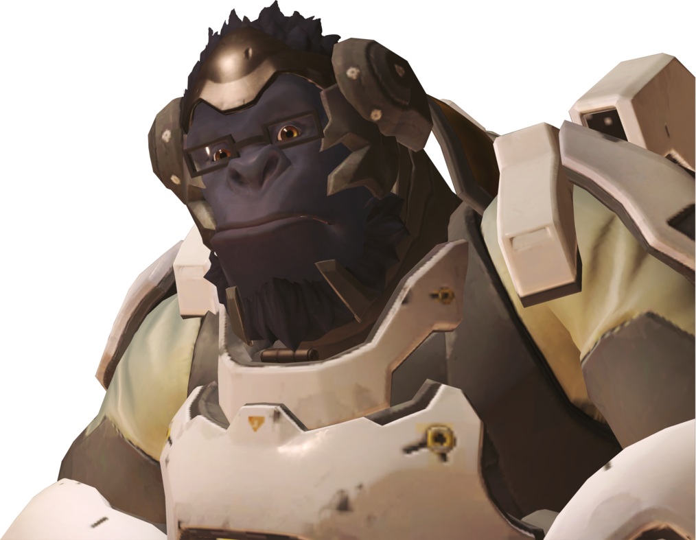 Winston png overwatch. Normal x by smashroyale