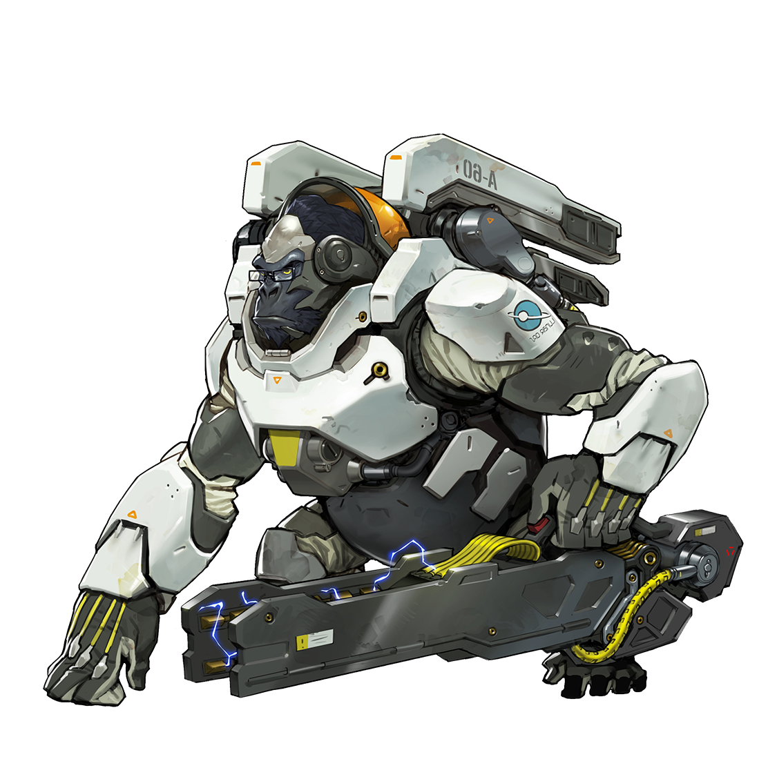 Winston transparent background. Overwatch tempo storm
