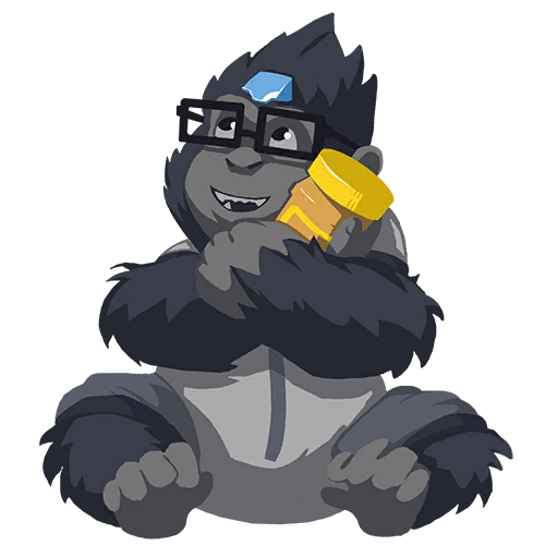 Winston transparent drawing. Lootwatch
