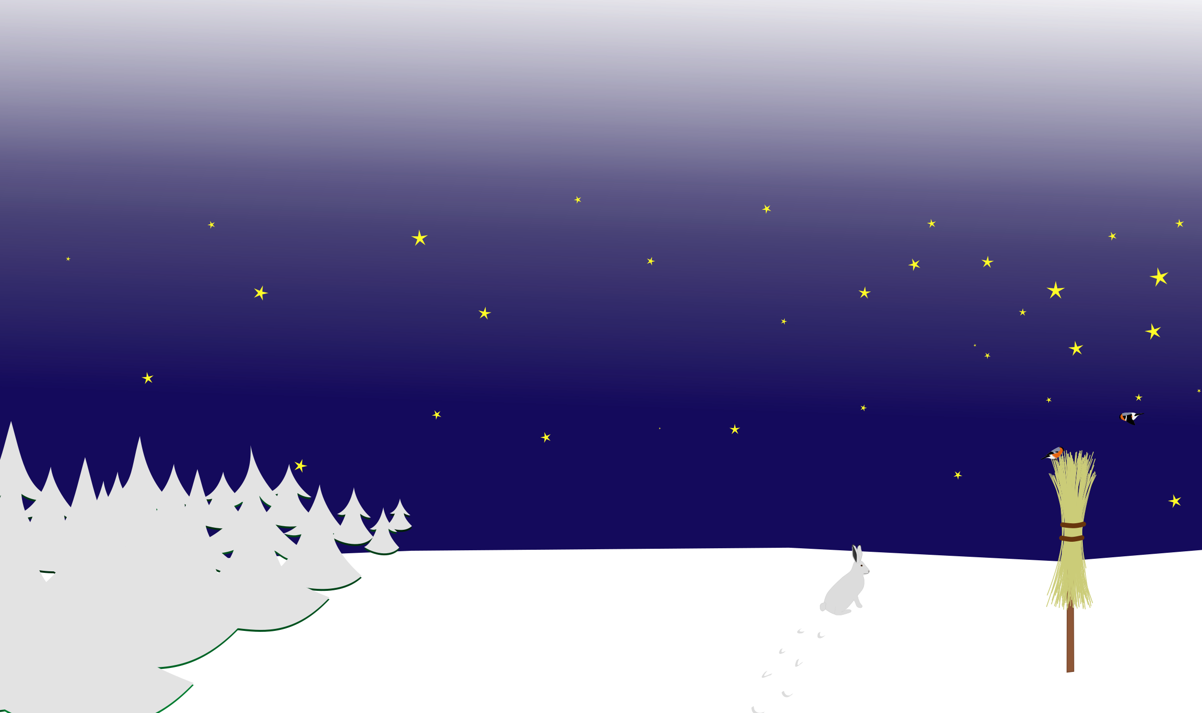 Winter background png. Night scene icons free