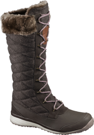 Snow boots png. Salomon hime high winter