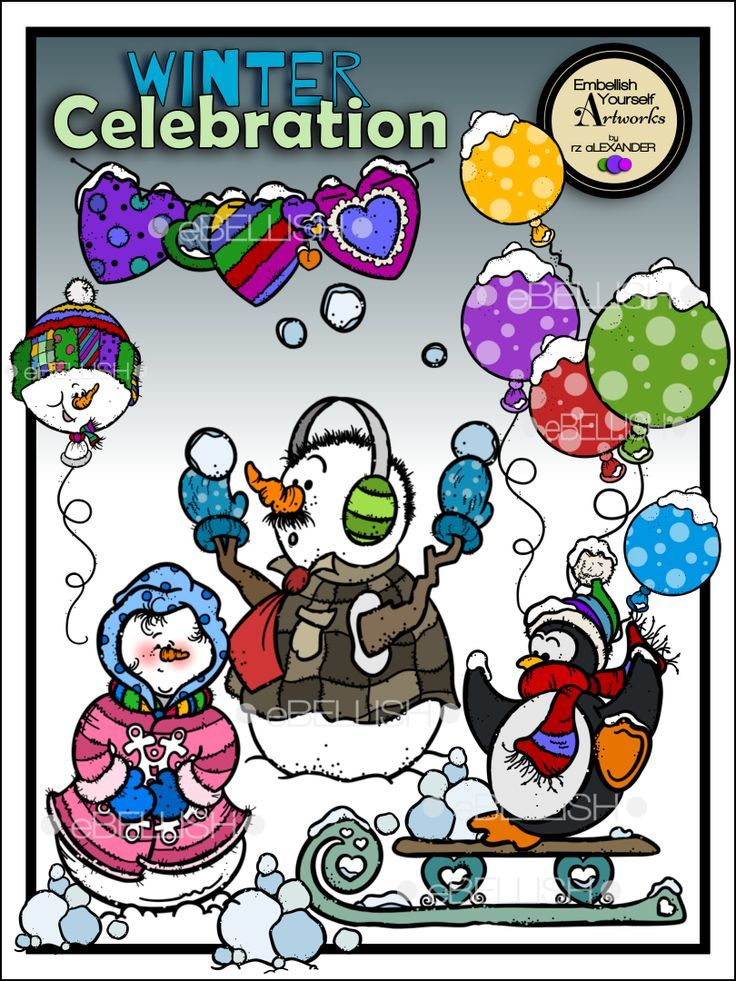 Celebrate clipart winter. Celebration celebrations and worksheets