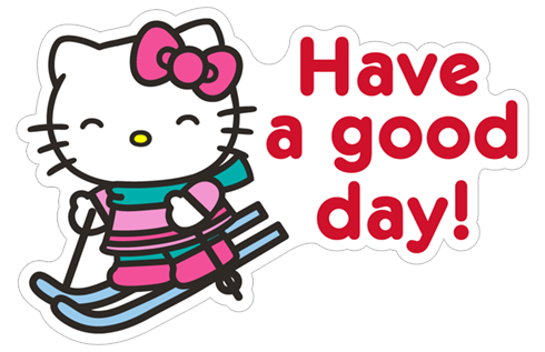 Winter holiday png. Free download hello kitty