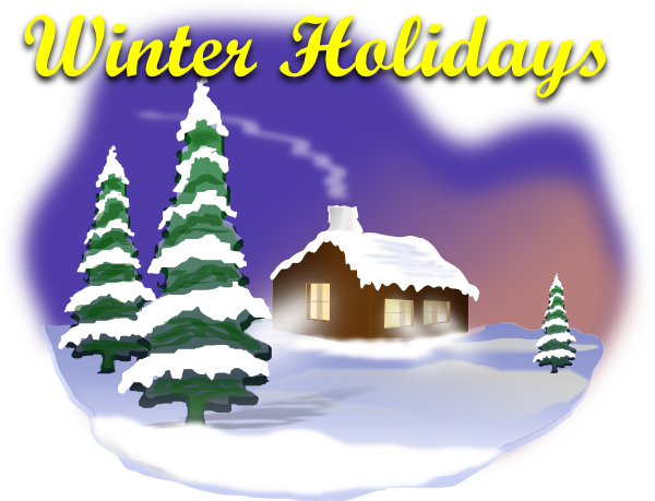 Winter holiday png