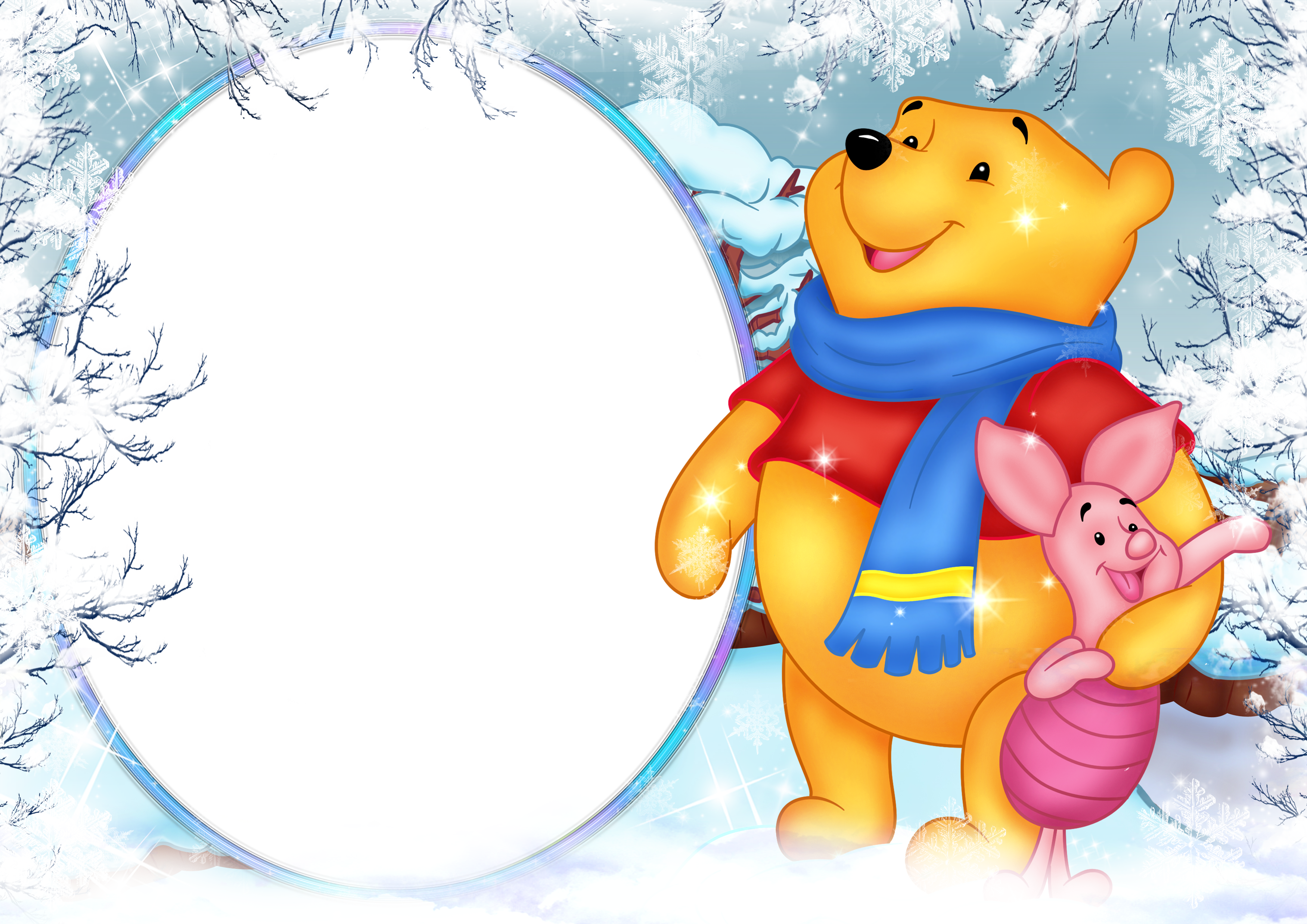 Winter holiday png. Winnie the pooh photo