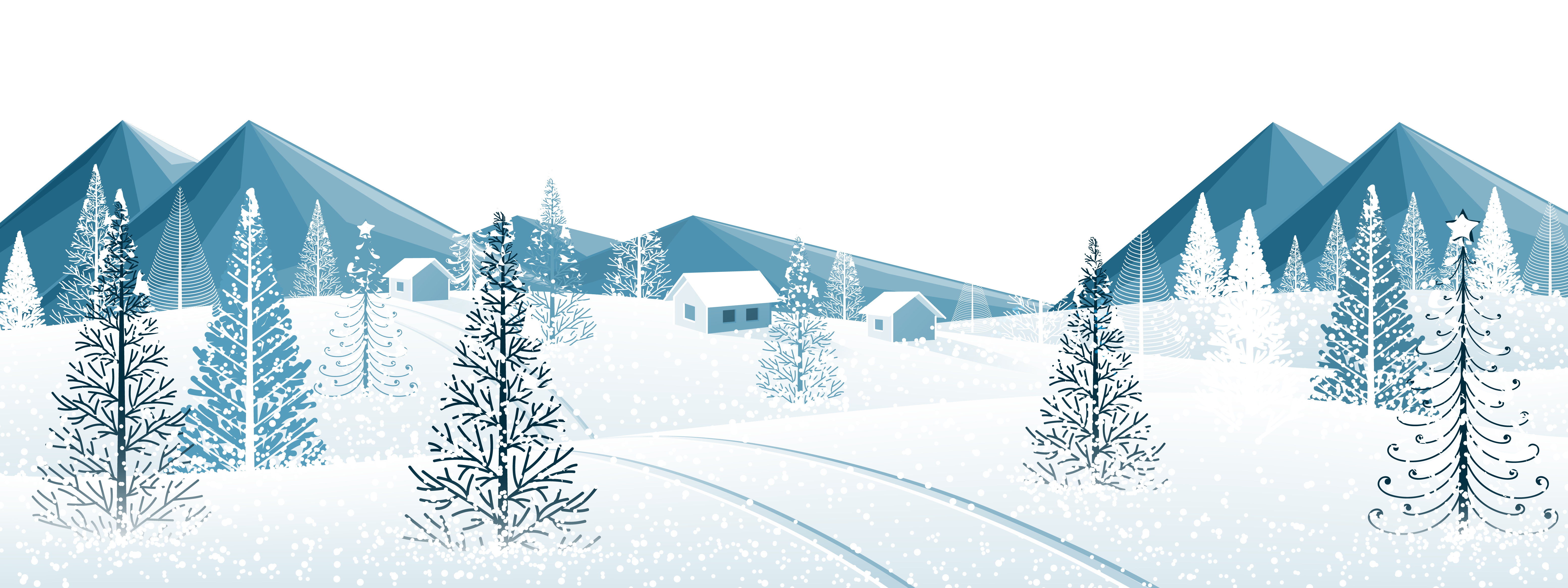 Snow trees png. Winter ground with clipart