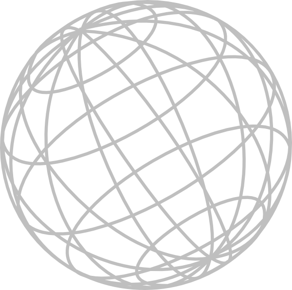 Wire globe png. Gray clip art at