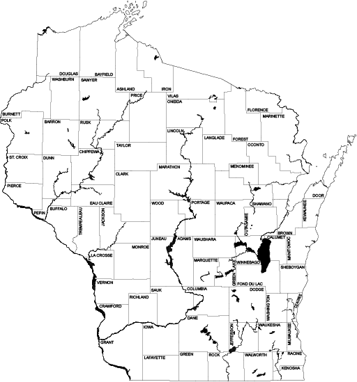 Wisconsin outline png. Maps state cartographer s