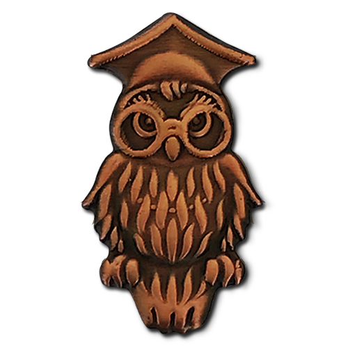 Wise owl png. Badge by school badges