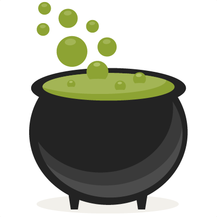 Witch cauldron png. Svg scrapbook cut file
