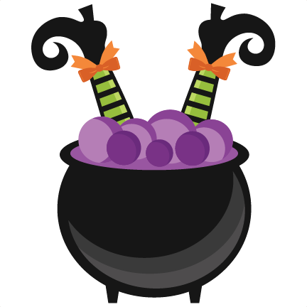 Witch cauldron png. In svg scrapbook cut