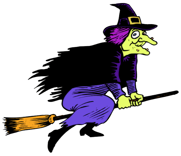 Witch clipart.