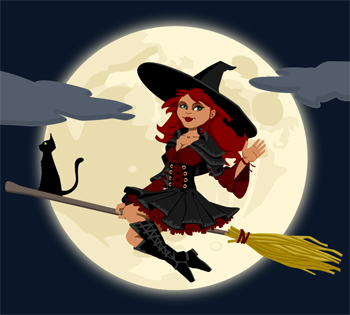 Witch clipart bad witch. Free of halloween witches