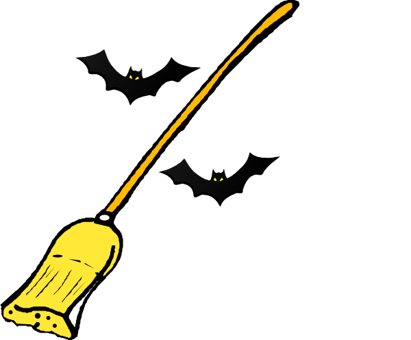 Witch clipart broom. S clip art at