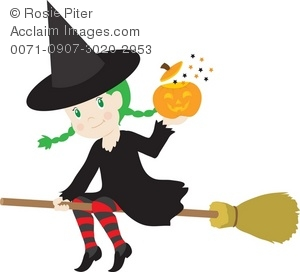 Good witch flying on. Witches clipart jpg free download