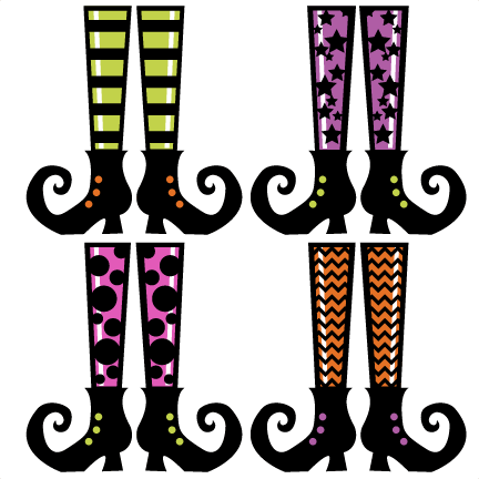 Witch feet png