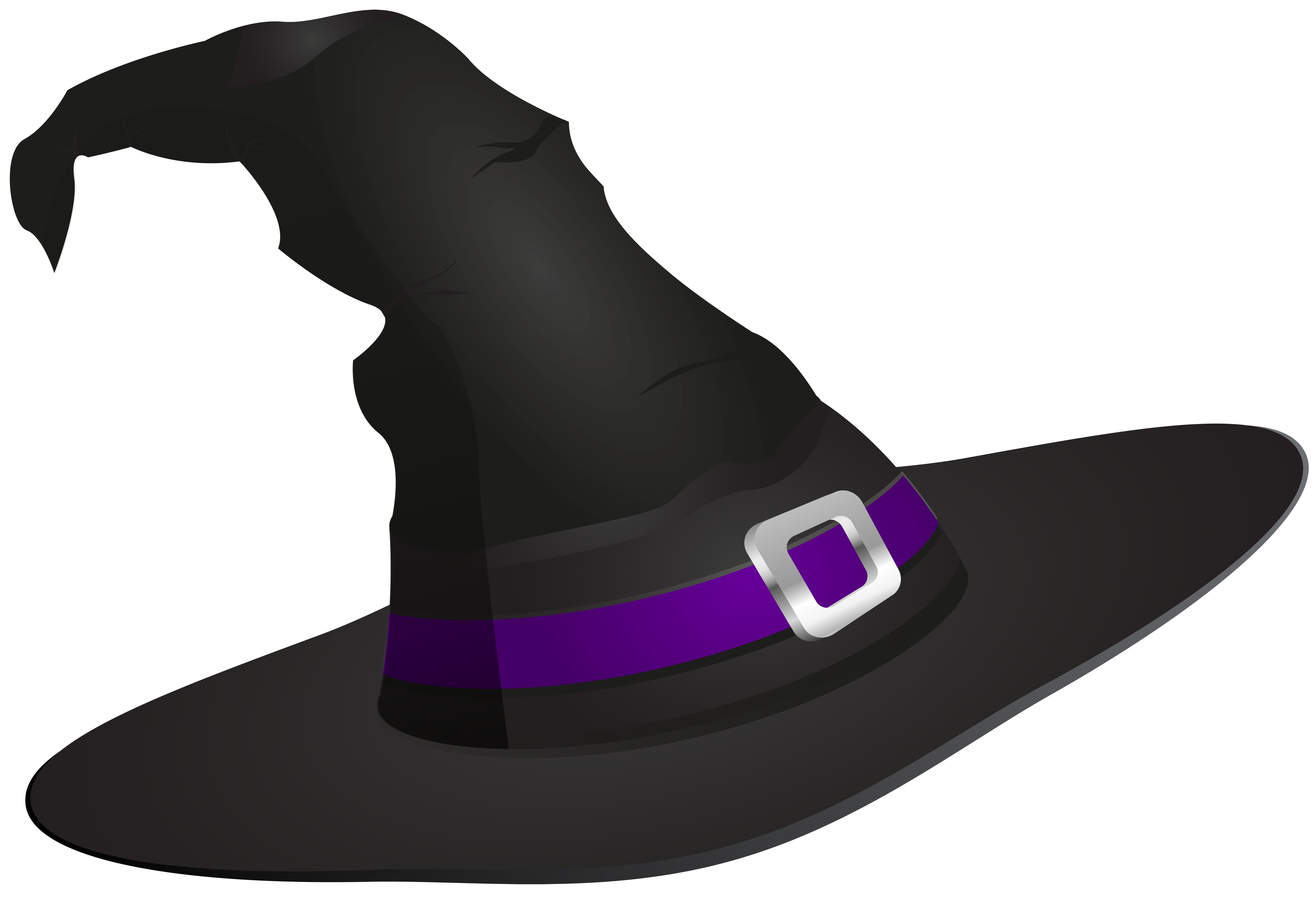 Halloween witch hat png. Transparent clip art image