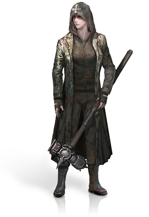 Witch hunter png. Image templar female the