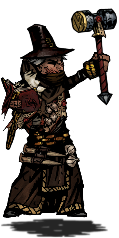 Witch hunter png. Class idea darkestdungeon heres