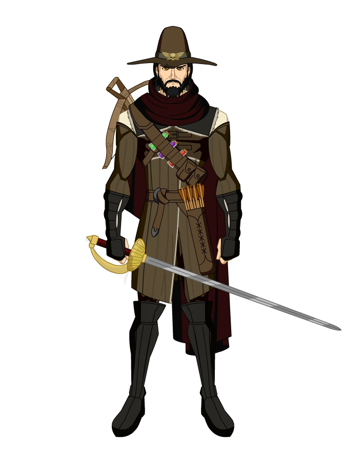 Witch hunter png. By jogodecartas on deviantart
