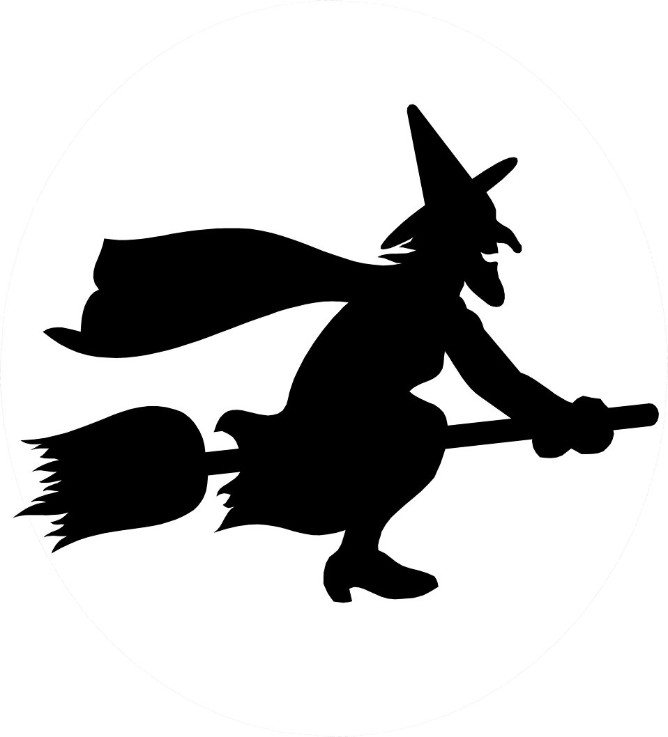 Drawing witches broom transparent background. Witch free stock photo