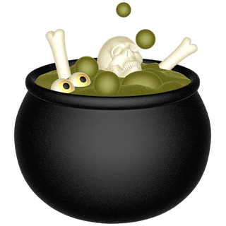 Cauldron vector halloween. Free witch cliparts download