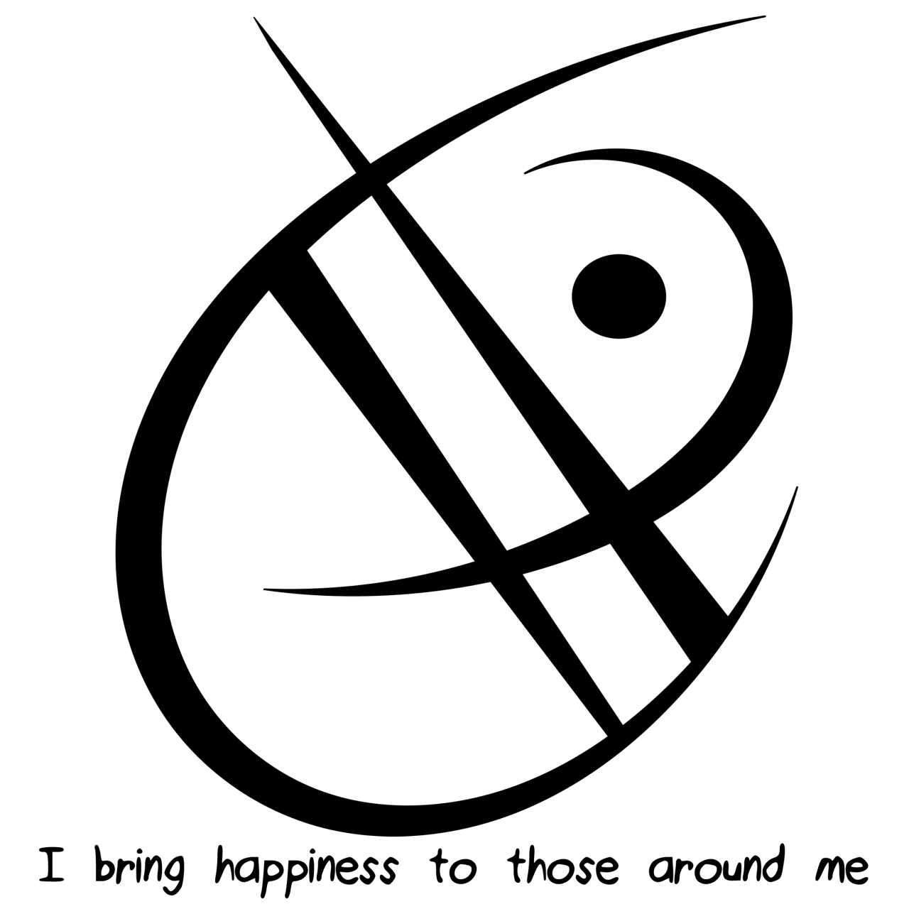 Witch symbol png. I bring happiness to