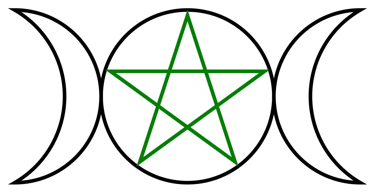 Witch symbol png. Dianic wicca wikipedia