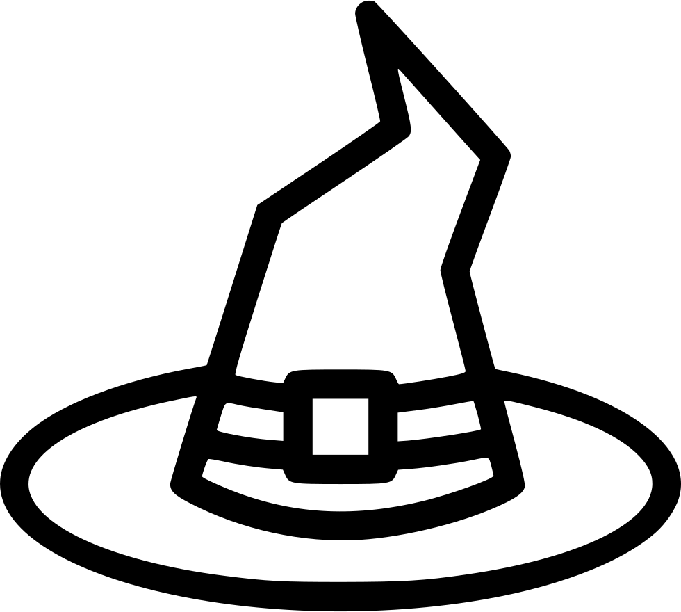 Witch symbol png. Hat fashion party magic