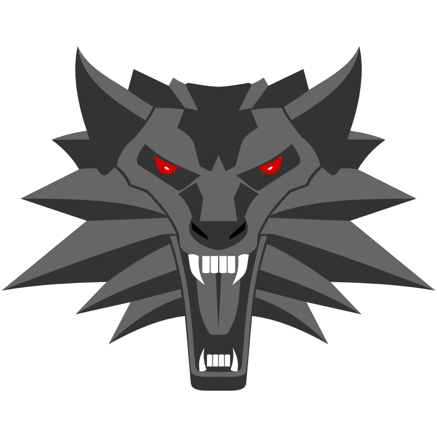 Witcher 3 wolf png. Medallion by adis cz
