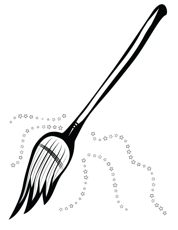 Witches broom png. Witch clip art in