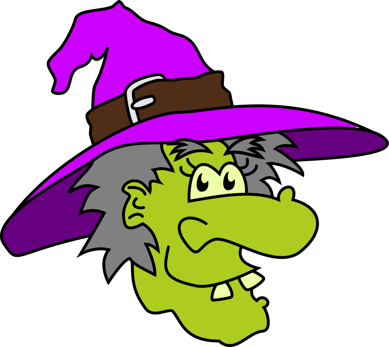 Witches clipart. Halloween witch clip art stock