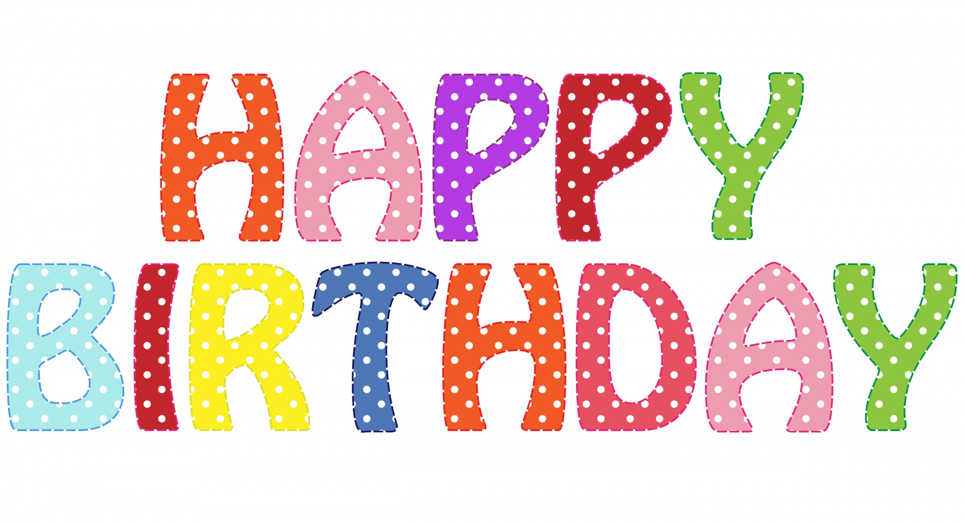 With clipart happy birthday. Text free stock photo