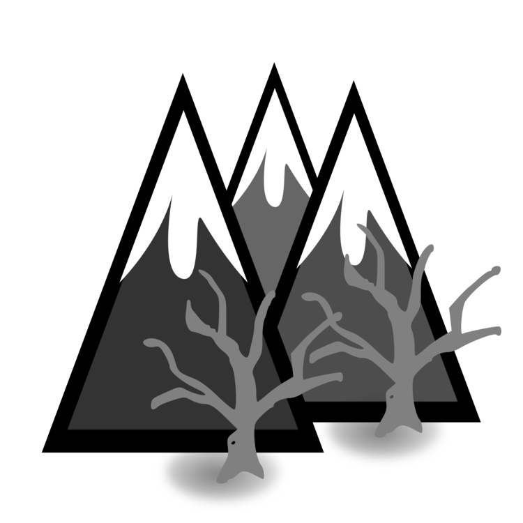 Forrest drawing mountains. Mountain computer icons free