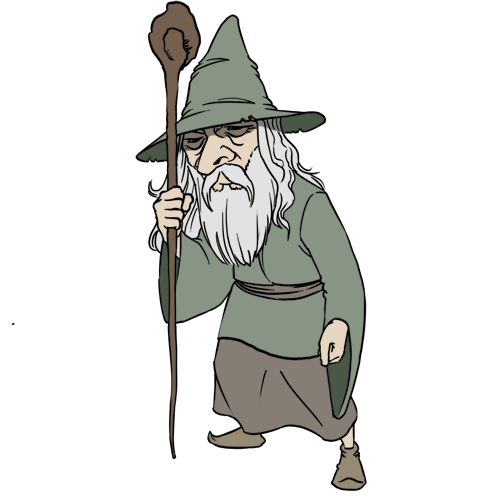 Wizard clip animation. Clipart warlock pencil and