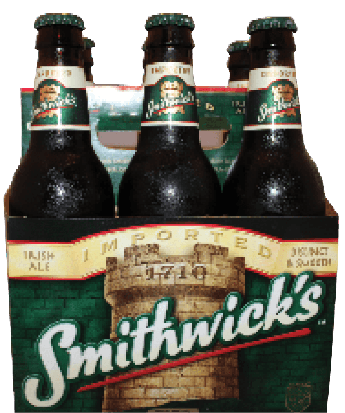 Transparent alcohol byo. Smithwick s premium irish