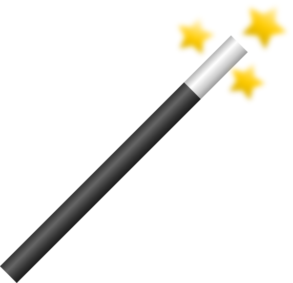 magician wand png